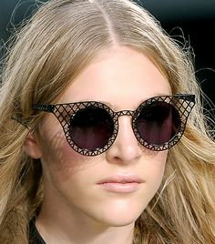 CRAZY SUNGLASSES {be sure to experiment with them}
