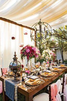 29 Adorable Steampunk Wedding Table Settings | HappyWedd.com