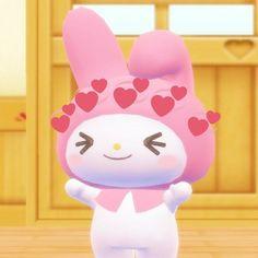this is so cute Cartoon Icons, Cute Cartoon, Pink Aesthetic, Aesthetic Anime, Aesthetic Outfit, Cute Love Memes, Cartoon Profile Pictures, Sanrio Characters, Cute Icons