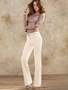 The Christie Flare Pant #VictoriasSecret http://www.victoriassecret.com/clothing/dress-pants/the-christie-flare-pant?ProductID=120756=OLS?cm_mmc=pinterest-_-product-_-x-_-x