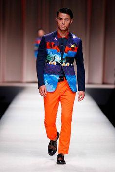 Male Fashion Trends: Moschino Spring/Summer 2014 - Milán Fashion Week #MFW