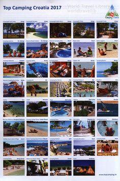 Top Camping Croatia magazine, Season 2017 _2, travel brochure Travel Brochure, World Traveler, Photo Wall, Seasons, Country, Camping, Life, Magazine, Top