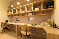 ライブラリースペース @ 子育てに理想の家 すくすく2 / みどりと風工房 施工実例