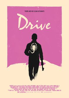 """hotphotography: """" Drive Poster Variant by ~RustyCharles """" Drive Poster, Minimal Movie Posters, Minimal Poster, Movie Poster Art, Film Posters, Poster Poster, Poster Ideas, Poster Series, Cinema Posters"""