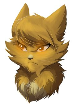 Goldenheart,shecat. Strong,brave and loyal. Crowlight her mate Died to save her and there kits. Protective of brackenkit and  Blackkit. Smart and is kind . Loves to hunt. She is in cloud clan.