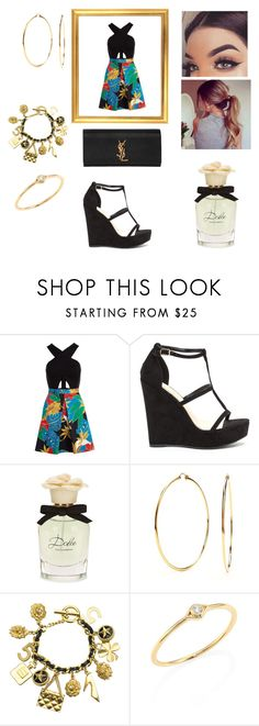 """""""5-3-17"""" by freespirit1177 ❤ liked on Polyvore featuring Alice + Olivia, Dolce&Gabbana, Nadri, Chanel, Sydney Evan and Yves Saint Laurent"""