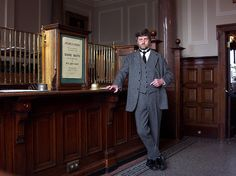 Edwardian Bank Manager by Terry Pinnegar Photography