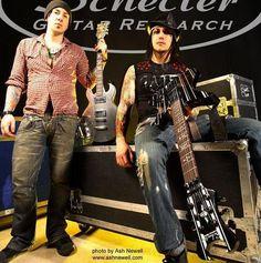 zacky and syn Avenged Sevenfold A7X
