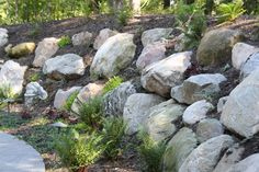 boulder retaining wall | boulder retaining wall projects click photos to enlarge