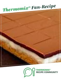 Recipe Peppermint Slice by Soph Wright, learn to make this recipe easily in your kitchen machine and discover other Thermomix recipes in Desserts & sweets. Chocolate Topping, Melting Chocolate, Peppermint Slice, Coconut Icing, Sweets Recipes, Desserts, Recipe Community, Food N, Cake Cookies
