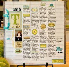 #Inspiring #ArtJournal #Smashbook layout page by Sande Krieger