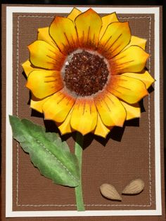copic sunflower | Products used on this project