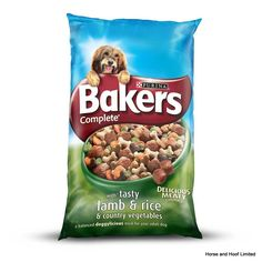 Bakers Complete Tasty Lamb Flavour Dog Food 14kg Bakers Complete Tasty Lamb Flavour is packed with delicious meaty chunks which provide adult dogs with all of the nutritional goodness that they need to live a healthy, active lifestyle.