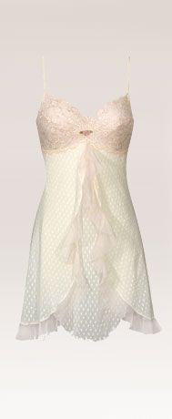 Ohh la la...Not that I'd ever wear it in public...I'd feel a bit naked but it's so pretty!