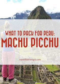Packing List for the Inca Trail and Machu Picchu Tours to help you plan your travel gear for this epic journey in Peru. Find out what to pack and more!