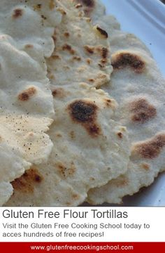 No More Naked Burritos: Gluten Free Flour Tortillas - Here is a tortilla recipe that you'll need if you make many of the recipes on this site. The gluten free tortillas are necessary for making burritos and enchiladas, but are much cheaper to make yourself.