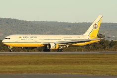 Royal Brunei Airlines Boeing 767-300ER at Perth Airport