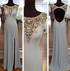 This dress is fully lined, 13 bones in the bodice and chest pad in the bust, lace up back or zipper back are all available, total 39 colors could be chose. Description of this prom /cocktail dress/formal dress 1, Material: high quality chiffon 2, Color: white, ivory, light ivory, champagne or other colors. 3, Size: standard size or custom size, if dress is custom made, we need to size as following bust______ cm/inch waist______ hip:_______ shoulder to shoulder :_______ shoulder to bust ...