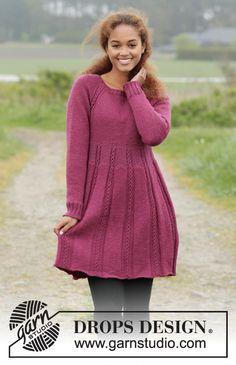 Dagens gratisoppskrift: Josephine | Strikkeoppskrift.com Knitting Patterns Free, Knit Patterns, Free Knitting, Knitting Needles, Finger Knitting, Knitting Tutorials, Knitting Machine, Skirt Pattern Free, Free Pattern