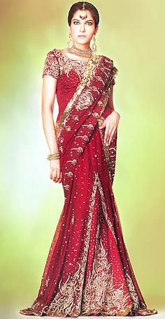 Deep Red Mermaid Lehenga Macarena Mermaid USA Trends and fashion from the runway and on celebrities in USA, Women Dresses, Bridal Wear Lehenga Top, Anarkali Tops, India Fashion, Asian Fashion, Indian Look, Indian Wear, Red Sari, Indian Goddess, Bridal Dresses