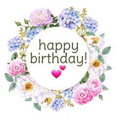 twins first birthday Happy Birthday Floral, Birthday Wishes Flowers, Happy Birthday Printable, Birthday Wishes For Friend, Happy Birthday Wishes Cards, Happy Birthday Girls, Birthday Blessings, Birthday Wishes Quotes, Happy Birthday Images