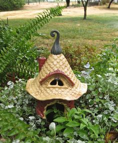 Magical Fairy Toad House for the Garden. $72.50, via Etsy.