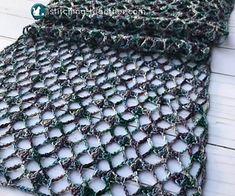 One Skein Crochet, Crochet Lacy Scarf, Crochet Simple, Crochet Scarves, Crochet Stitches, Crochet Patterns, Free Crochet, Stitch Patterns, Scarf Patterns