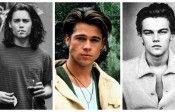 Retro album cu Brad Pitt, Johnny Depp, Leo DiCaprio și alții ca ei