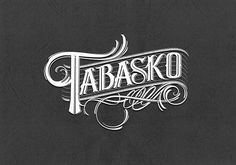 50 Handlettered Logotypes on Behance