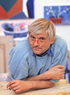 Artist and Studio Artists Like, Famous Artists, Male Artists, David Hockney, Schools In London, Pop Art Movement, Moving To Los Angeles, Create Photo, Art For Art Sake