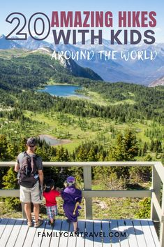 Looking for incredible places to take your kids hiking? Add these 20 amazing kid friendly hiking trails to your list! Included in this list are hike with kids in countries like Iceland, Canada, New Zealand, Argentina and many more! Places To Travel, Travel Destinations, Travel Tips, Places To Go, Travel Goals, Travel Advice, Travel Guides, Hiking With Kids, Travel With Kids