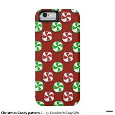 christmas candy pattern iphone 6 battery case iphone 6 case christmas candy iphone 6 cases