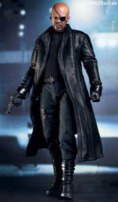 The Avengers: Nick Fury - Deluxe Figur, Fertig-Modell ... http://spaceart.de/produkte/tav001.php