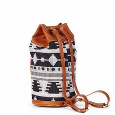 Tribal Drawstring Backpack