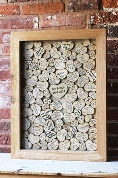 Favorite Guest Book Ideas Have all your guests sign a heart that you will frame and put up in your house! Such a fun guest book idea!Have all your guests sign a heart that you will frame and put up in your house! Such a fun guest book idea! Tree Wedding, Wedding Guest Book, Wedding Bride, Wedding Blog, Diy Wedding, Wedding Favors, Rustic Wedding, Wedding Planner, Wedding Decorations