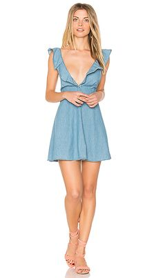 Shop for Motel Kasmara Dress in Chambray at REVOLVE. Free 2-3 day shipping and returns, 30 day price match guarantee.