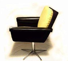 fotel obrotowy, loft, retro, rockabilly, modern design, lata 60 70 prl Płock - image 2