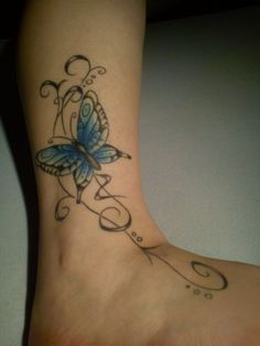 Butterfly tattoo by ArtisticDane