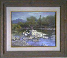 James J. Ingwersen, Southwest landscape, pastel