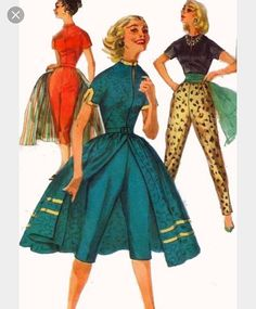 @simplicity_creative_group Any chance this vintage pattern of yours could come back to life? There's some chatting about it on a retro Facebook group. It's number is 1812. Anyone know of a similar reissue?@debek301 #vintagestyle #vintagesewing #vintage50s