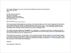 17 best resignation letter images on pinterest professional 8 nursing resignation letter templates free sample example format download expocarfo Choice Image