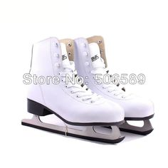Livraison gratuite chaussures de patins à glace blanc couleur # 33 --- # 42