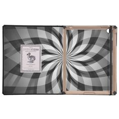 Black and White Floral Burst Design iPad Dodo Case Cases For iPad