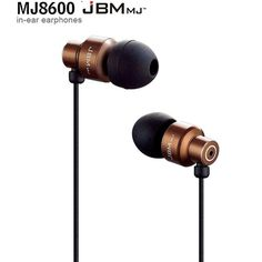 Bass Stereo In-Ear Earphone Headset Headphone 3.5mm Plug For MP 3/4 Ipod Coffee #JBM