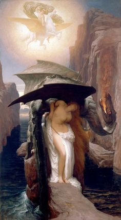 Perseus and Andromeda, Frederic Leighton, 1891.