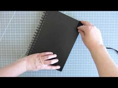 How to Add an Elastic Band Closure to Your Sketchbook