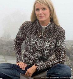 Женский и мужской свитера с жаккардом. Схемы