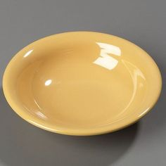 Carlisle Food Service Products Sierrus 14.7 oz. MelamineRimmed Bowl (Set of 24) Color: Honey Yellow