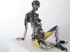 Más arte con objetos de reciclaje | Quiero más diseño