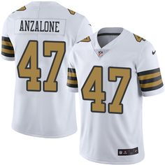 02b7a35a02f Men s New Orleans Saints Ken Crawley White 2016 Color Rush Stitched NFL  Nike Limited Jersey
